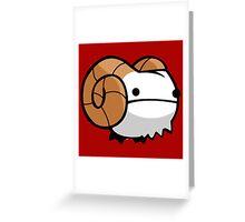Rammy Goat Greeting Card