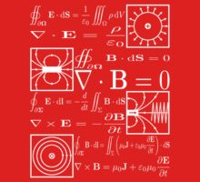 Maxwell's Equations One Piece - Short Sleeve