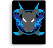 Mega Charizard X Icon Canvas Print