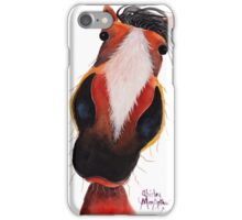 HAPPY HORSE 'CIDER CHOPS' By Shirley MacArthur iPhone Case/Skin
