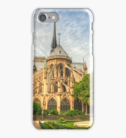 Notre Dame & The Manicured Trees iPhone Case/Skin