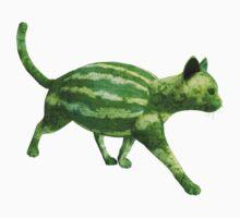 Weird Melon Cat Kids Tee