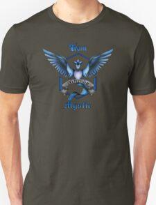 Mystic Team Blue Pokeball Unisex T-Shirt