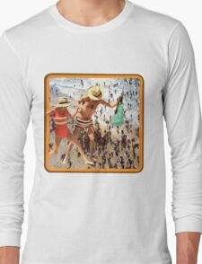 A Day at the Seaside'   Long Sleeve T-Shirt
