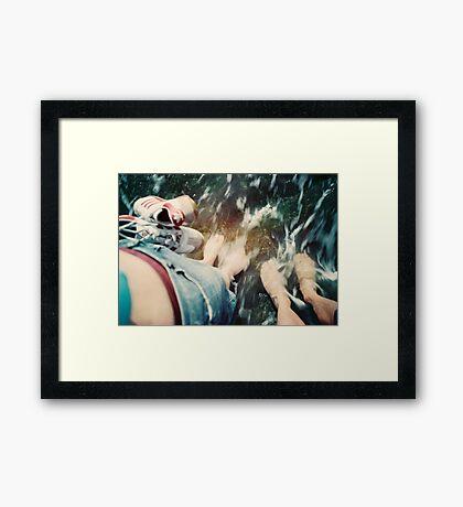 Lomo - Cooling down Framed Print