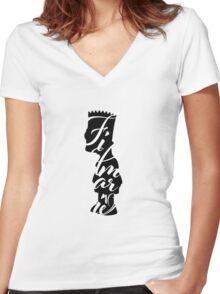 Filmarie Women's Fitted V-Neck T-Shirt