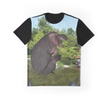 Cannonball Hippo Graphic T-Shirt
