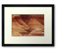 Painted Hills - Up Close And Personal - 2 © Framed Print