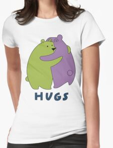 Hugs Womens Fitted T-Shirt
