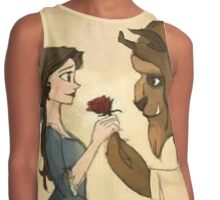 giving rose Contrast Tank