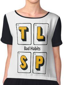 The Last Shadow Puppets - Bad Habits Chiffon Top