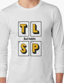 The Last Shadow Puppets - Bad Habits Long Sleeve T-Shirt