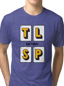The Last Shadow Puppets - Bad Habits Tri-blend T-Shirt