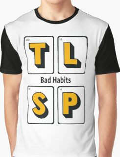 The Last Shadow Puppets - Bad Habits Graphic T-Shirt