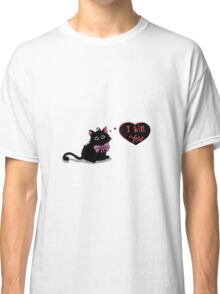 Elegant kitten Classic T-Shirt