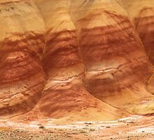 Painted Hills - Up Close And Personal - 4 © by © Hany G. Jadaa © Prince John Photography
