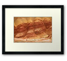Painted Hills - Up Close And Personal - 4 © Framed Print