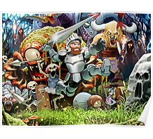 Ghost Goblins Poster