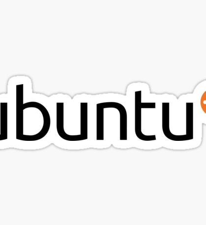 Ubuntu Sticker