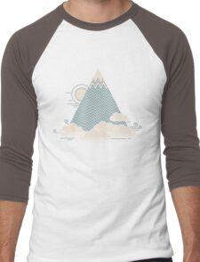 Cloud Mountain Men's Baseball ¾ T-Shirt
