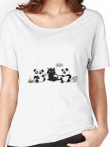 Kitten asks for help Women's Relaxed Fit T-Shirt