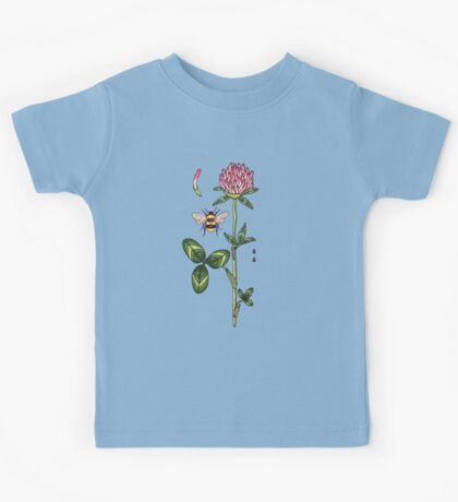 aromatic red clover Kids Tee