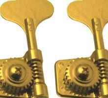 Bass golden keys Sticker