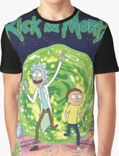 Rick and Morty Poster Graphic T-Shirt