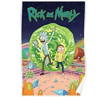 Rick and Morty Poster Poster