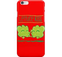 Lettuce Kiss iPhone Case/Skin