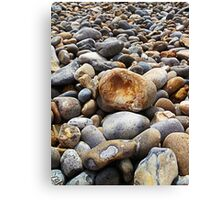 Beach Pebbles 1 Canvas Print
