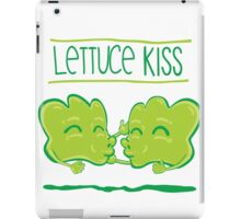Lettuce Kiss iPad Case/Skin