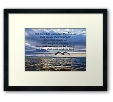 They That Wait Upon the Lord Framed Print