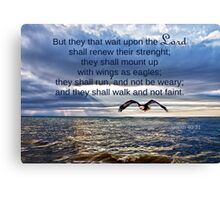 They That Wait Upon the Lord Canvas Print