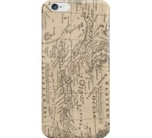 Vintage Map of The Caribbean (1763) iPhone Case/Skin