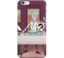 Rick and Morty Poster iPhone Case/Skin