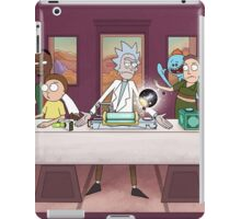 Rick and Morty Poster iPad Case/Skin