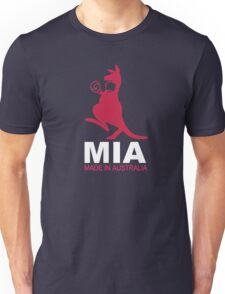 MIA - Made in Australia - PINK Unisex T-Shirt