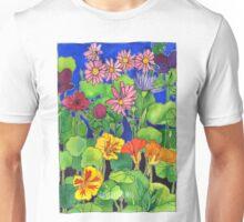 Nasturtium Garden Unisex T-Shirt