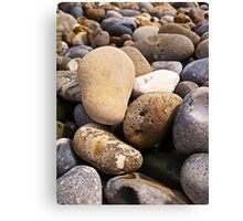 Beach Pebbles 2 Canvas Print