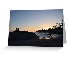 Luvly Summer Sunset Greeting Card