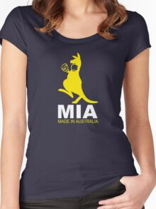 MIA - Made in Australia - YELLO Women's Fitted Scoop T-Shirt