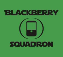 BlackBerry Squadron (Black) One Piece - Short Sleeve