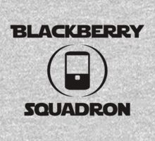 BlackBerry Squadron (Black) Baby Tee