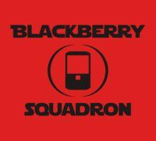BlackBerry Squadron (Black) Kids Clothes