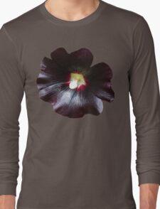 Black flower_big picture Long Sleeve T-Shirt
