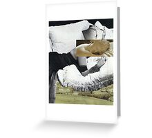Above the city Greeting Card