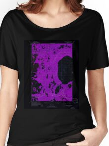 USGS TOPO Map Alaska AK Anchorage D-8 354065 1951 63360 Inverted Women's Relaxed Fit T-Shirt