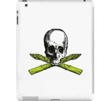asparagus pirate iPad Case/Skin