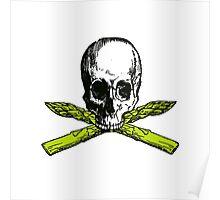 asparagus pirate Poster